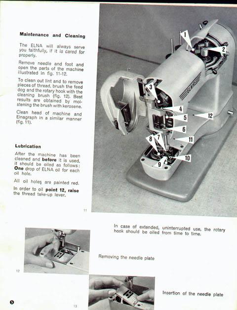 Elna Supermatic Manual Custom Elna Super Sewing Machine Manual